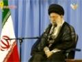 السيد القائد الإمام علي الخامنئي الذي ألقاه امام منظمي حملات الحج