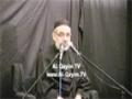 [08] Muharram 1435 - Azadari Imam (A.S) Nusrate Imam tak - H.I Ali Murtaza Zaidi - UK London - Urdu
