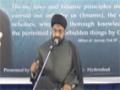 [02] Muharram 1435 - Hamasa-e-Hussaini Aur Asr-e-Hazir ke Taqazey - Moulana Taqi Agha - Urdu