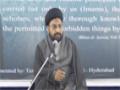 [03] Muharram 1435 - Hamasa-e-Hussaini Aur Asr-e-Hazir ke Taqazey - Moulana Taqi Agha - Urdu