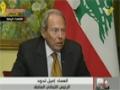 [22 Nov 2013] Talk Time : الرئيس إميل لحود - حديث الساعة | قناة المنار  - Arabic
