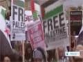 [12 Dec 2013] Anti Israel protest held in London - English