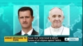 [29 Dec 2013] In message to Pope, Assad says he is determined to defend Syrians of all religions against Takfirs English