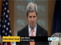[16 Jan 2014] Kerry urges divided foreign-backed opposition to join Geneva II conference - English