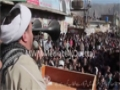 [22 Jan 2014] Alamdar Road Dharna - Speech H.I Aijaz Bahishti - Urdu