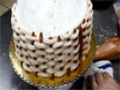 How to Create a Basketweave for Cake Decorations - Flower Basket cake tutorial English