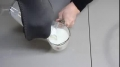 How to Turn Milk into Stone Science experiment English