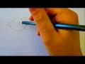 Flower Tutorial - How To Draw Flowers - Poppy Flowers - English