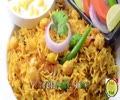 Achari Chaana Pulao - By VahChef - English