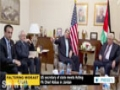 [26 Mar 2014] US secretary of state meets Acting PA Chief Abbas in Jordan - English