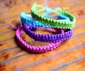 DIY Stackable Square Knot/Cobra Stitch Bracelet - English