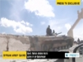 [15 Apr 2014] Syrian army made further advances in al-Qalamoun - English