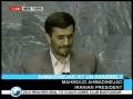 Ahmadinejad speech at UNO Part 3-English