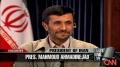 Ahmadinejad speaks out - CNN Larry King - English