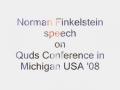 Al-Quds Conference 08 -Norman Finkelstein speech- MI USA- English