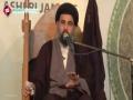 [03 - Last] Majlis e Shahadat Imam Ali (A.S) - H.I Ahmed Iqbai - 20 Ramzan 1435 - Urdu