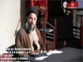 [28] Q & A Session 1 of 2 - H.I Aqeel ul Gharavi - 28 Ramzan 1435 - Urdu