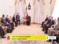 [17 Aug 2014] Iranian president says nation missile capability non-negotiable - English