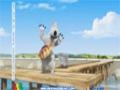 [24] Animated Cartoon Bernard Bear - Fishing / Pescando - All Languages