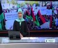[29 Aug 2014] Libyan demonstrators express support for Fajr Libya militia - English