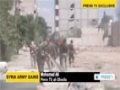 [08 Sep 2014] Syrian forces discover schools and hospitals used by militants as their positions during the war - English