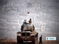 [13 Oct 2014] Fighting underway between Kurdish fighters and ISIL terrorists, north of  Kobani - English