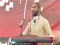 [یوم حسین ع] Salam : Br. Laeeq - 18 November 2014 - Karachi University - Urdu