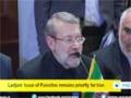 [22 Dec 2014] Larijani: Issue of Palestine remains priority for Iran - English