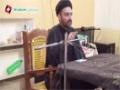 [01] Safar 1436 - Khilqat-e-Insan Ka Maqsad - Mulana Nusrat Bukhari - Urdu