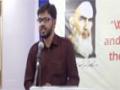 [Day 3] Hafta-e-Wahdat 1436 A.H - Zameene Nabi (s) ki - Syed Tamjeed Hyder Sahab