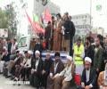 Sanehah Peshawar Ehtijaj aur Rally say Khitab - Ustad Syed Jawad Naqavi - Urdu
