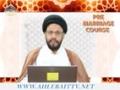[04] Pre-Marriage Course - Molana Syed Zaki Baqri - Urdu & English