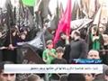 فيديو خاص من عزاء السيدة زينب (ع) عند مرقدها - Arabic