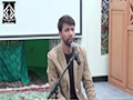 Program : Shahadat of Imam Musa Kazim (A.S) - 15 May 2015 - Urdu & English