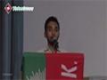 [Seminar : Yume Mustafa (S.A.W)] Naat : Br. Ammar - Dawoood University - Urdu