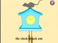 Hickory Dickory Dock - English
