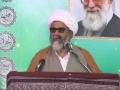 [خط امام خمینی کی معرفت اور شناخت] Speech : H.I Raja Nasir Abbas- Jamshoro - Urdu