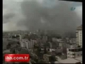 Israeli air raid explosion in Gaza neighborhood caught on camera-English