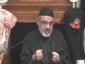 [Majlis 09] Maulana Murtuza Zaidi - Muharram 1437/2015 - Urdu