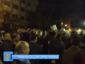 Egyptians protest against Gaza massacre - Dec08 - Arabic