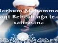 Ayətullah Behcətin (r.a) dəfn mərasimi - Azeri