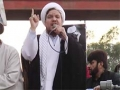 [Protest & Rally On Martydom of Sh. Baqir Al-Nimr] Speech : H.I Ejaz Bahishti  - Numaesh, Karachi - Urdu