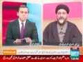 Tehran Radio\\\'s syed Muhammad Rizvi Interview on Dawn News - Urdu