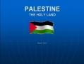 Presentation-Palestine Brief Historical Background - English