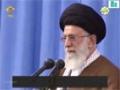 Düşmən sözü Quran qarşısında - Ayətullah Xamenei - Farsi Sub Azeri