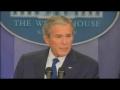 Bush melancholy in final press conference - Jan09 - English
