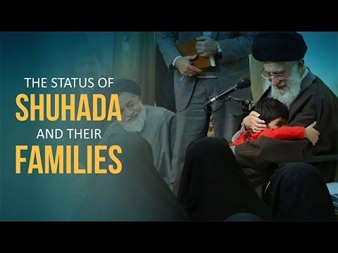 The Status of the Shuhada and their Families   Imam Sayyid Ali Khamenei   Farsi sub English