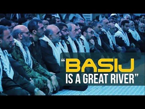 Basij Is A Great River | Imam Sayyid Ali Khamenei | Farsi sub English