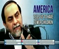 America tells us to have Fewer Children   Dr Rahimpour Azghadi   Farsi sub English
