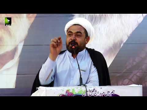 [Wilayat-e-Haq Convention 2018] Speech: Moulana Haider Ali | Shab-e-Shohada | Asgharia Org. Pak - Sindhi